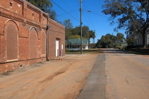 Martin GA Historic District Bricked In Fanlight Windows Photograph Copyright Brian Brown Vanishing North Georgia USA 2014
