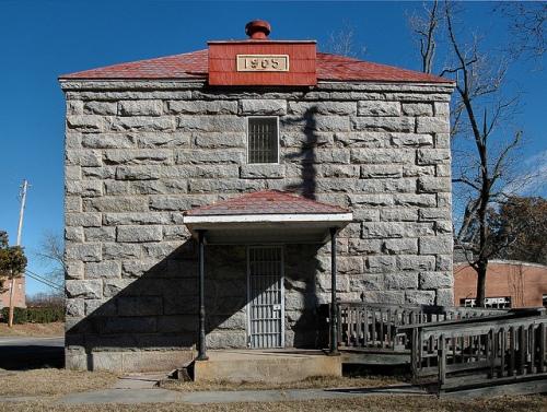 Old Hancock County Jail Sparta GA Landmark Photograph Copyright Brian Brown Vanishing North Georgia USA 2014