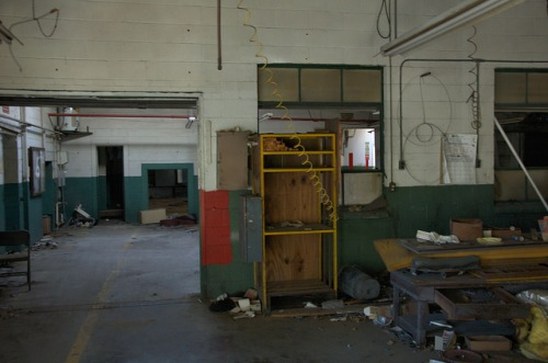 Toccoa Casket Company GA Local Industry Abandoned Coffin Factory Photograph Copyright Brian Brown Vanishing North Georgia USA 2014
