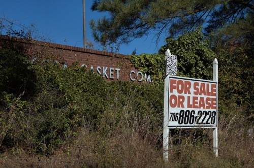 Toccoa Casket Company GA Stephens County Abandoned Factory For Sale Photograph Copyright Brian Brown Vanishing North Georgia USA 2014