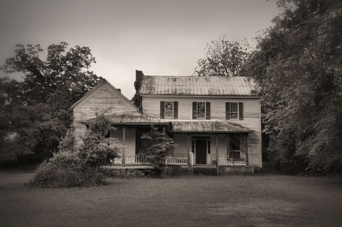 Cadley GA Warren County Early Vernacular Farmhouse Photograph Copyright Brian Brown Vanishing North Georgia USA 2014