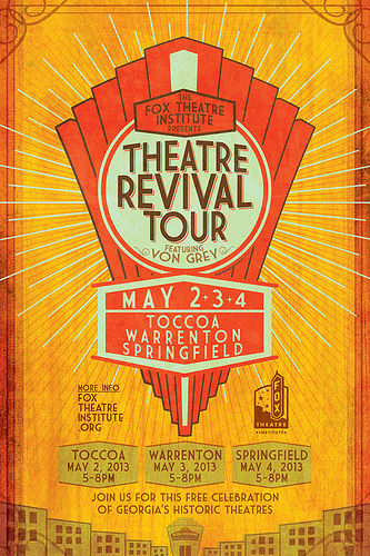 Fox-theatre-institute-Theatre-Revival-Tour-poster-warrenton-georgia-vanishing-north-georgia-2014