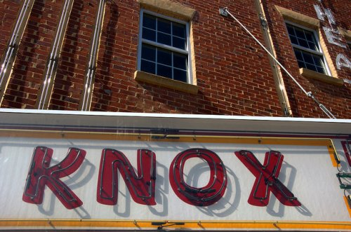 Warrenton GA Warren County Histori Knox Theatre Restored Marquee Photograph Copyright Brian Brown Vanishing North Georgia USA 2014