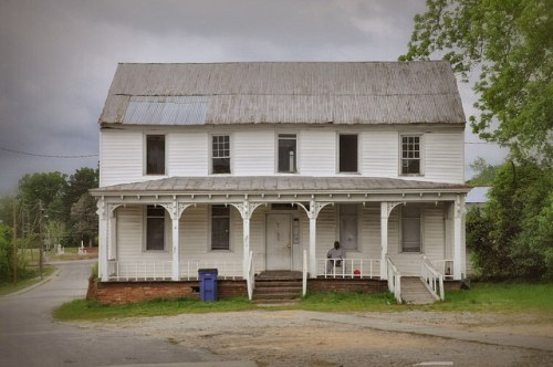 Warrenton GA Warren County Historic Plantation Plain House Photograph Copyright Brian Brown Vanishing North Georgia USA 2014