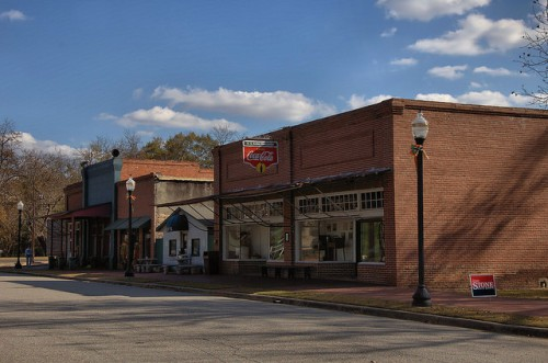 Mitchell GA Glascock Historic Downtown Kelley Mercantile Photograph Copyright Brian Brown Vanishing North Georgia USA 2014