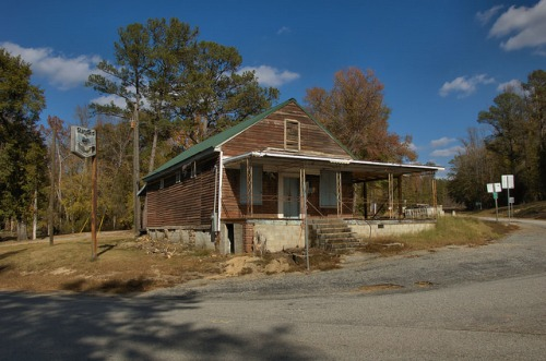 Shoals GA Hancock County Abandoned Country Store Standard Oil Sing Photograph Copyright Brian Brown Vanishing North Georgia USA 2014