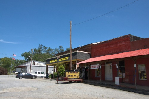 Yatesville GA Upson County Mulling Grocery Photograph Copyright Brian Brown Vanishing North Georgia USA 2014