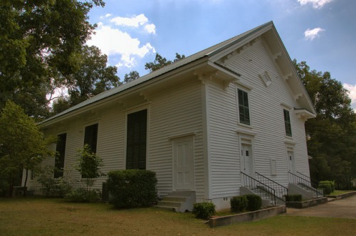 Sardis Baptist Church Antebellum Landmark Chattoogaville Lylerly GA Chattooga County Photograph Copyright Brian Brown Vanishing North Georgia USA 2014