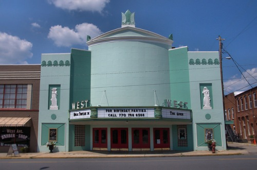 West Theatre Cedartown GA Photograph Copyright Brian Brown Vanishing North Georgia USA 2014