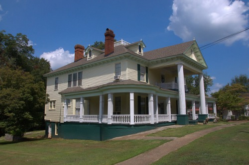 Bowdon GA Landmark Roop House Photograph Copyright Brian Brown Vanishing North Georgia USA 2014