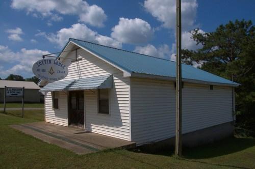 Ephesus GA Heard County Loftin Lodge No 688 Free Accepted Masons Photograph Copyright Brian Brown Vanishing North Georgia USA 2014