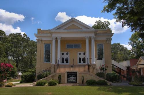 Tallapoosa Methodist Church Haralson County GA Photograph Copyright Brian Brown Vanishing North Georgia USA 2014