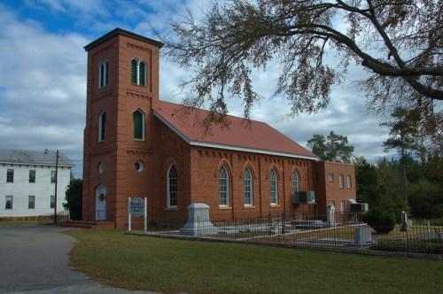 Jewell Baptist Church Hancock County GA Photograph Copyright Brian Brown Vanishing North Georgia USA 2014