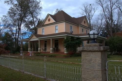 Jewell GA Warren County Rosemont House Photograph Copyright Brian Brown Vanishing North Georgia USA 2014