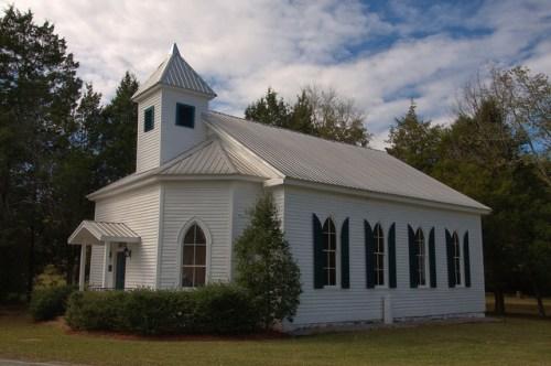 Rock Mills Methodist Church Jewell GA Hancock County National Register of Historic Places Photograph Copyright Brian Brown Vanishing North Georgia USA 2014