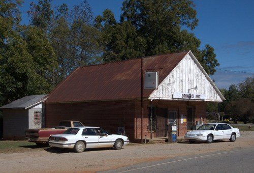 Beulah Community Hancock County Bonners Grocery Small Town Indepedent Store Photograph Copyright Brian Brown Vanishing North Georgia USA 2014