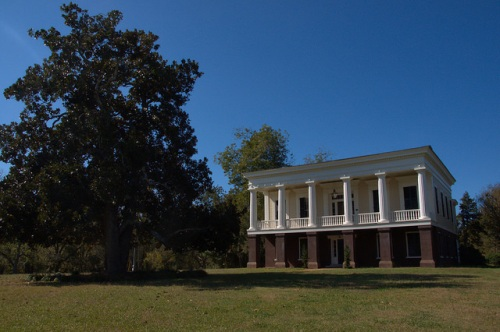 Glen Mary Plantation Hancock County GA National Register of Historic Places Photograph Copyright Brian Brown Vanishing North Georgia USA 2014