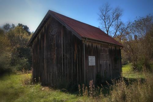 Graves Barn Sparta GA Photograph Copyright Brian Brown Vanishing North Georgia USA 2014