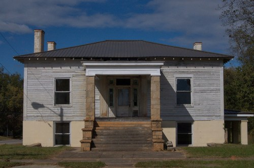 Roberts Beall House Antebellum Sparta GA Photograph Copyright Brian Brown Vanishing North Georgia USA 2014