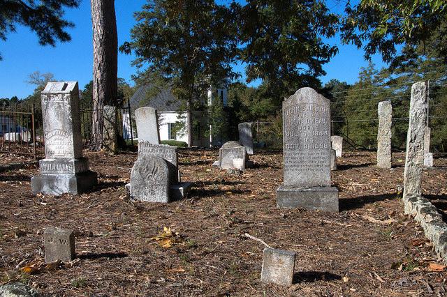 Siloam Cemetery Greene County GA Photograph Copyright Brian Brown Vanishing North Georgia USA 2014
