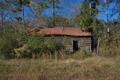 Siloam GA Greene Count Tenant Farmhouse Vernacular Architecture Photograph Copyright Brian Brown Vanishing North Georgia USA 2014