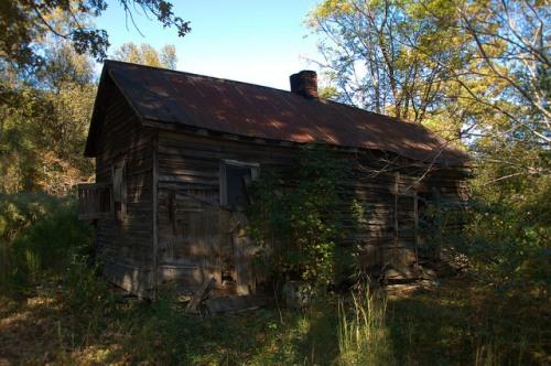 Siloam GA Greene County Vernacular Farmhouse Cabin Photograph Copyright Brian Brown Vanishing North Georgia USA 2014