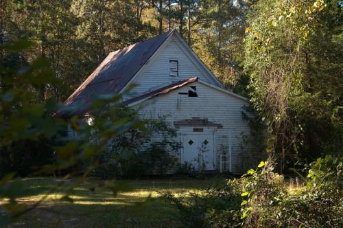 St. Paul AME Church Siloam GA Greene County Photograph Copyright Brian Brown Vanishing North Georgia USA 2014
