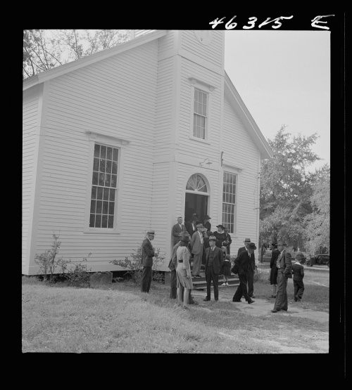 White Plains Methodist Church Greene County GA 1941 Jack Delano Library of Congress