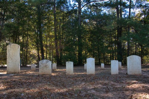 Bethany Presbyterian Church Greene County GA Historic Early Members Cemetery Pioneers Headstones Photograph Copyright Brian Brown Vanishing North Georgia USA 2015