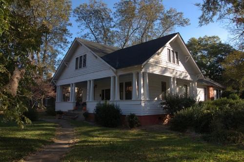 Greensboro GA Craftsman Style House Photograph Copyright Brian Brown Vanishing North Georgia USA 2014