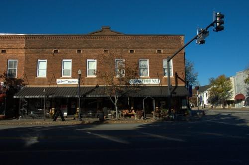 Greensboro GA McCommons Big Store Antebellum Commercial Architecture Photograph Copyright Brian Brown Vanishing North Georgia USA 2014