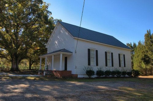Historic Bethany Presbyterian Church Greene County GA Photograph Copyright Brian Brown Vanishing North Georgia USA 2015