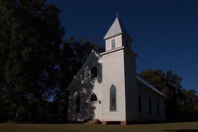 Historic Philomath Presbyterian Church Oglethorpe County GA Photograph Copyright Brian Brown Vanishing North Georgia USA 2015