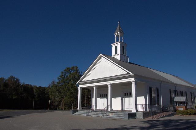 Historic Stevens Grove Baptist Church Oglethorpe County GA Photograph Copyright Brian Brown Vanishing North Georgia USA 2015
