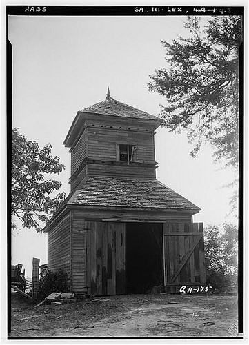 Lexington GA Dovecote at Cox Chedel Johnston House Photographed by L D Andrew HABS Courtesy of Library of Congress