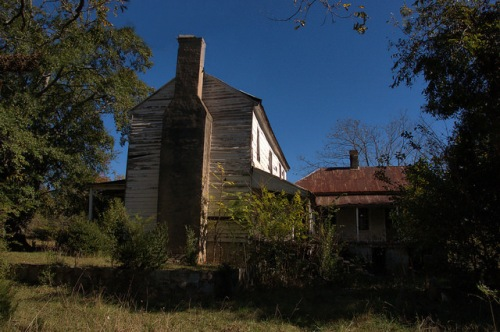 Lexington GA Oglethorpe County 18th Century Architecture Smith Turner House Critically Endangered Georgia Trust for Historic Preservation Photograph Copyright Brian Brown Vanishing North Georgia USA 2014