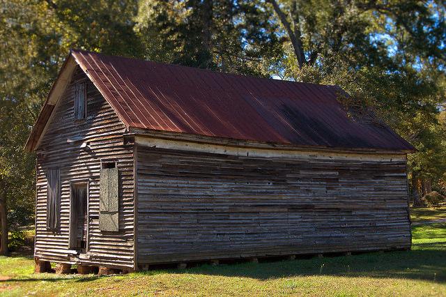 Lexington GA Oglethorpe County Cunningham Commissary Photograph Copyright Brian Brown Vanishing North Georgia USA 2015