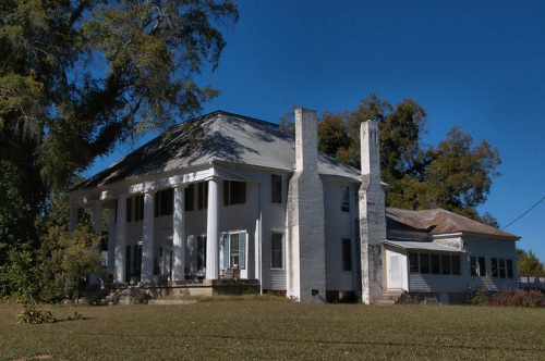 Lexington GA Oglethorpe County Dr Bernard Chedel House Perspective Photograph Copyright Brian Brown Vanishing North Georgia USA 2015