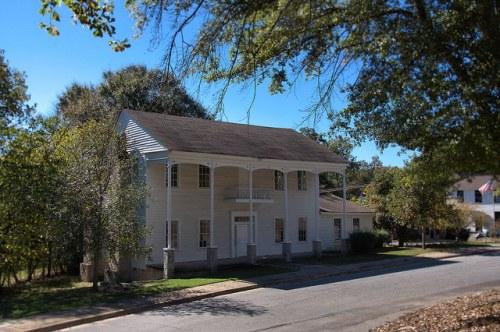 Lexington GA Oglethorpe County Knox House Photograph Copyright Brian Brown Vanishing North Georgia USA 2015