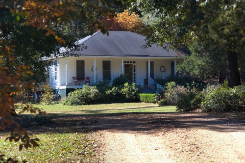 Lexington GA Oglethorpe County OKain House Photograph Copyright Brian Brown Vanishing North Georgia USA 2015