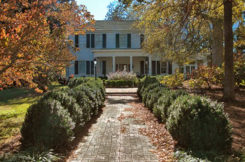 Lexington GA Oglethorpe County Stephen Upson House Photograph Copyright Brian Brown Vanishing North Georgia USA 2015