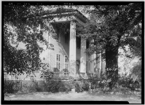 Lexington GA Photographer L D Andrew Judge Platt House 1936 HABS Library of Congress