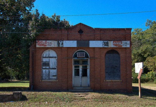 Maxeys GA Oglethorpe County Vinsons Bargain Store Photograph Copyright Brian Brown Vanishing North Georgia USA 2015