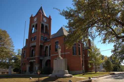 Oglethorpe County Courthouse Lexington GA Photograph Copyright Brian Brown Vanishing North Georgia USA 2015