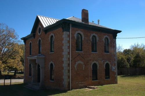 Oglethorpe County Jail Lexington GA Photograph Copyright Brian Brown Vanishing North Georgia USA 2015