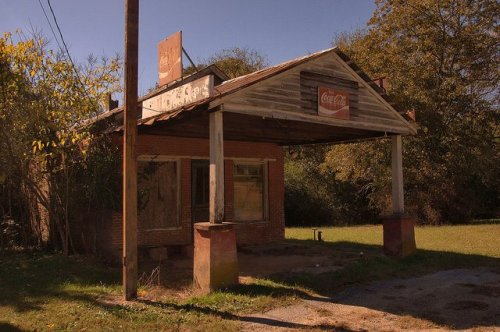 Penfield GA Greene County Abandoned Country Store Photograph Copyright Brian Brown Vanishing North Georgia USA 2015