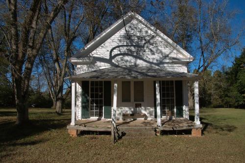 Philomath GA Oglethorpe County A T Drake Store Photograph Copyright Brian Brown Vanishing North Georgia USA 2015