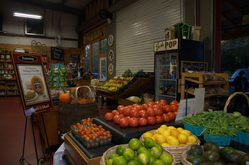 Ripe Thing Market Greensboro GA Local Organic Foods Photograph Copyright Brian Brown Vanishing North Georgia USA 2015