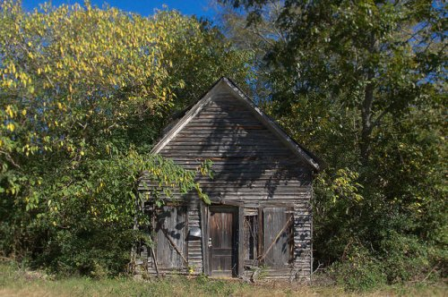 Stephens GA Oglethorpe County Abandoned Country Store Photograph Copyright Brian Brown Vanishing North Georgia USA 2015