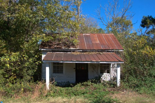 Stephens GA Oglethorpe County Abandoned House Photograph Copyright Brian Brown Vanishing North Georgia USA 2015